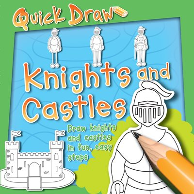 Book cover for Quick Draw Knights and Castles